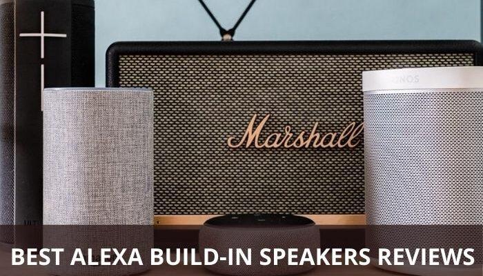 Alexa build-in speakers